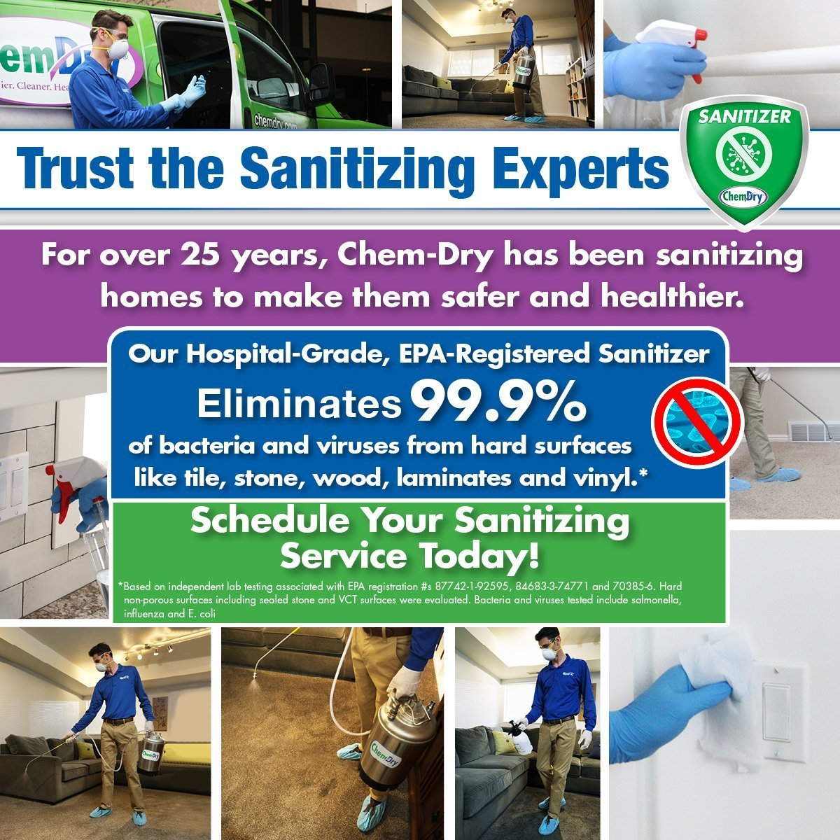 coronavirus cleaning sanitizer indianapolis in